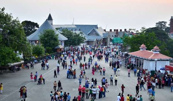 places to visit in Shimla-Mall Road
