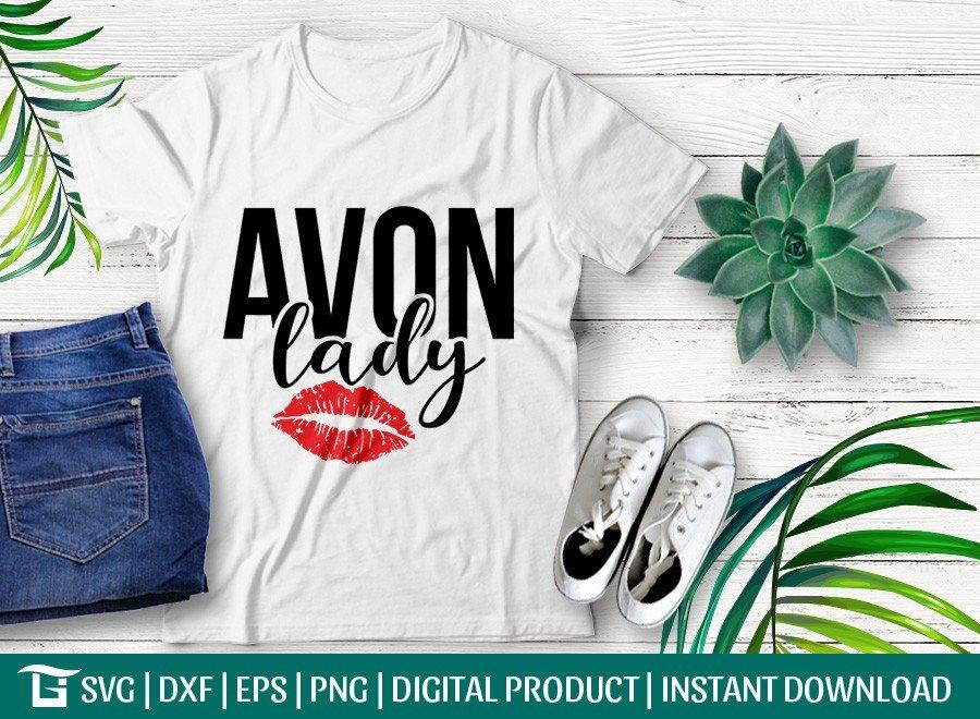 Avon Lady SVG | Women SVG | Tshirt Design