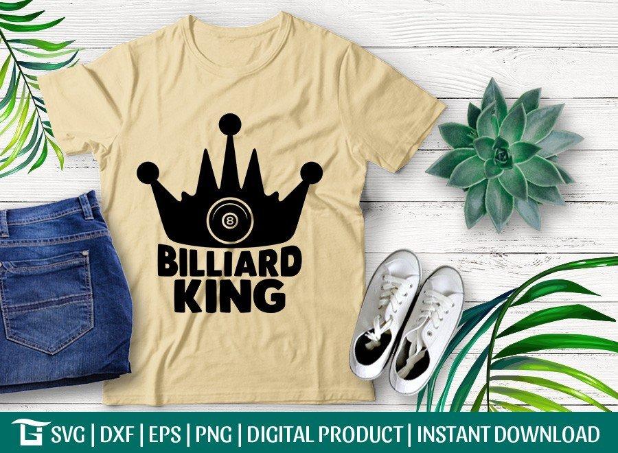 Billiard King SVG | Pool SVG