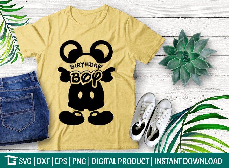 Mickey Mouse Birthday Boy SVG | Disney SVG