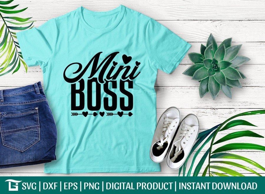 Mini Boss SVG | Boss Baby SVG
