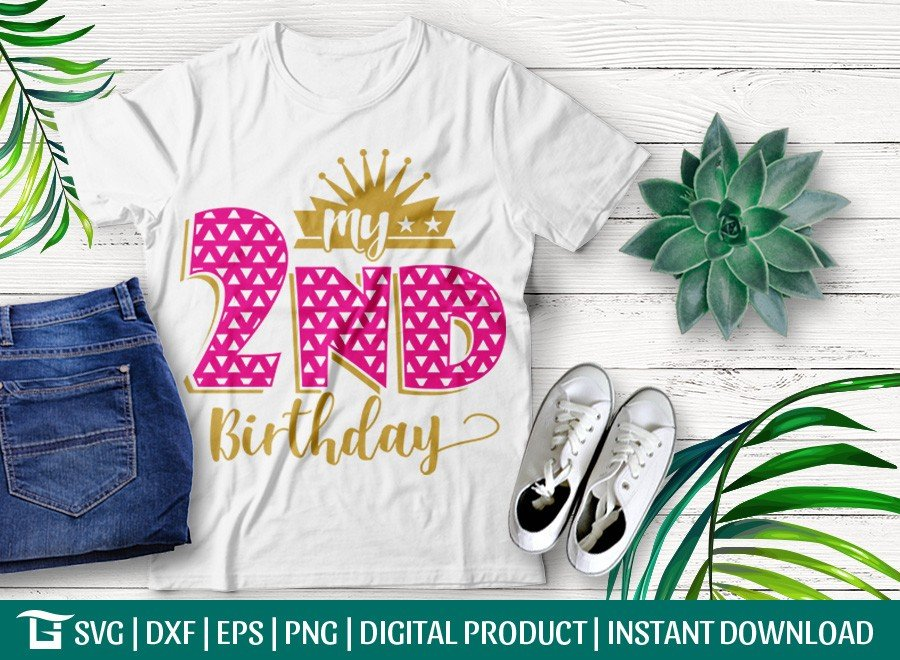 My 2nd Birthday SVG | Baby SVG | T-shirt Design