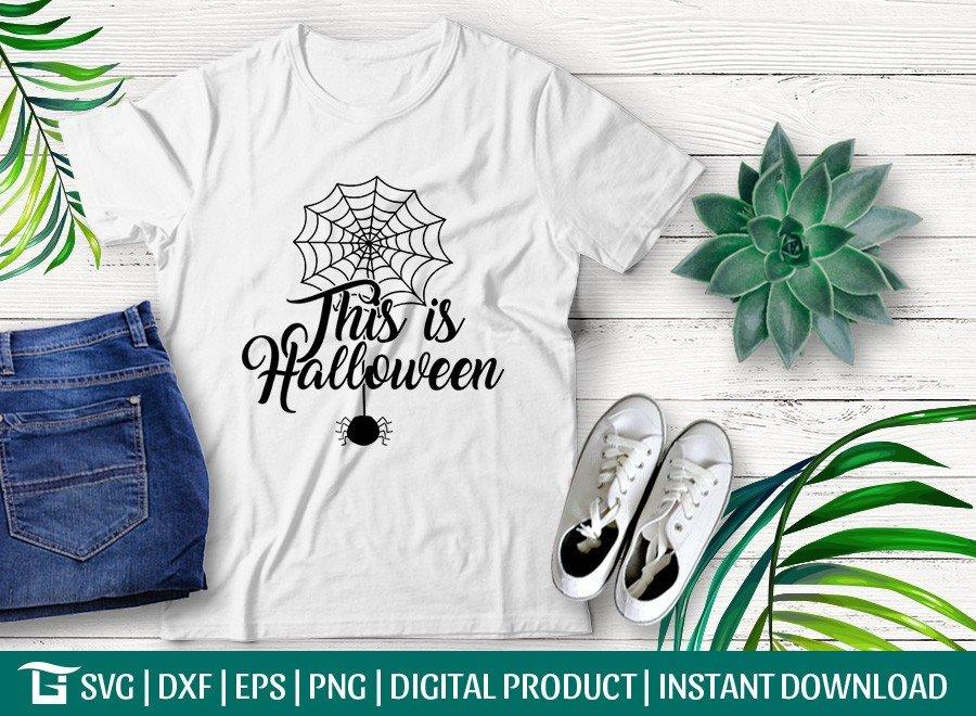 This Is Halloween SVG | Spider SVG | T-shirt Design