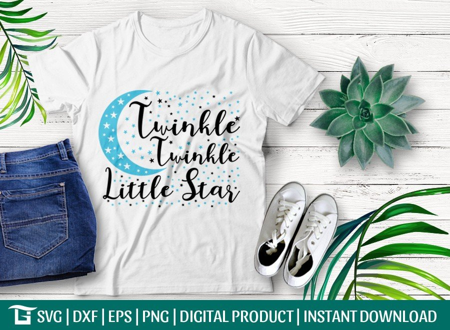 Twinkle Twinkle Little Star SVG | Baby Shower