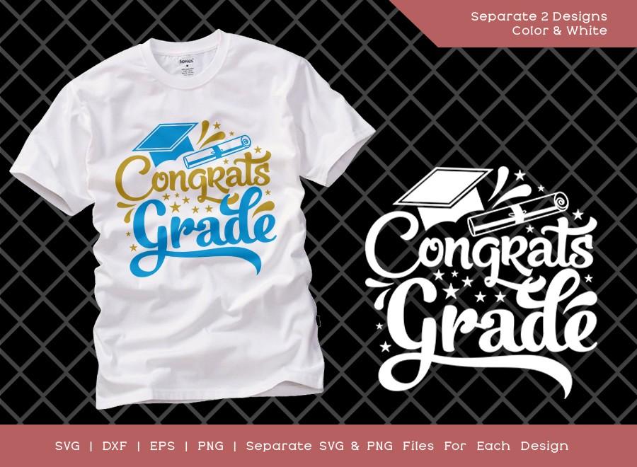 Congrats Grade SVG Cut File | Graduate Svg | Grade SVG