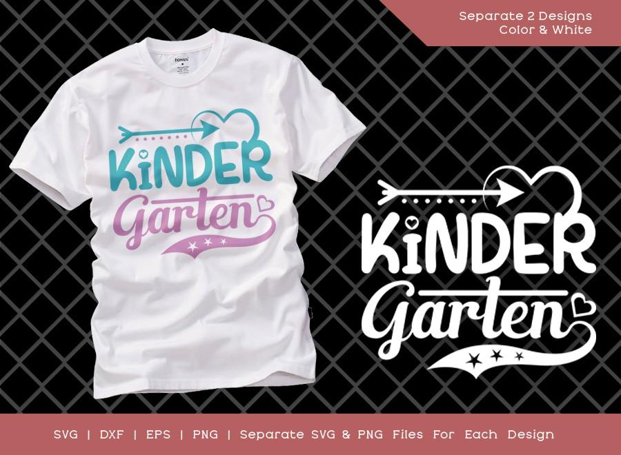 Kindergarten SVG Cut File   Kinder Garten Svg
