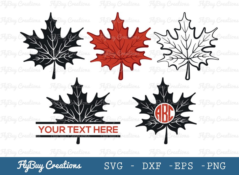 Autumn Leaves SVG Cut File | Fall Leaves SVG