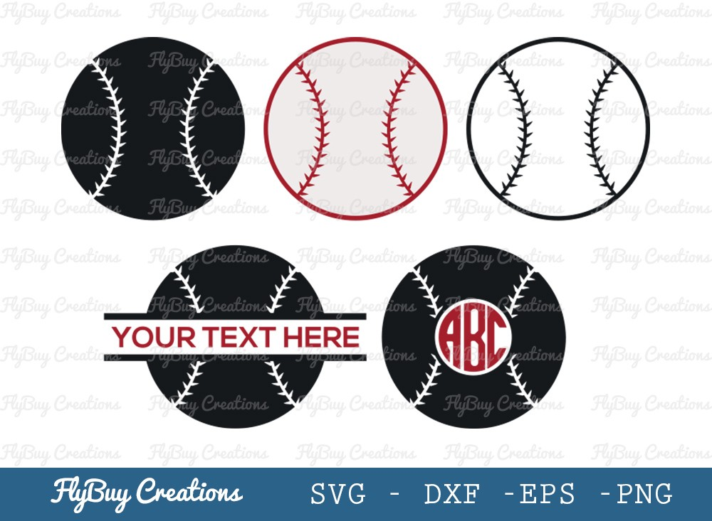 Base Ball SVG Cut File | Sports Ball Svg