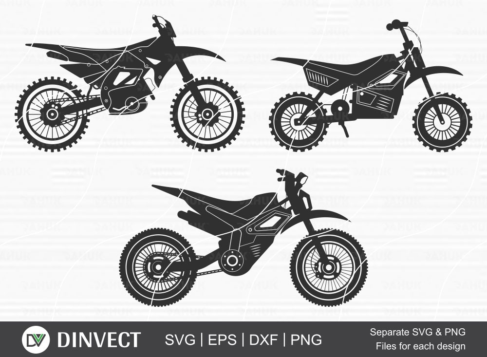 Motocross SVG, Motocross png, Dirt bike svg