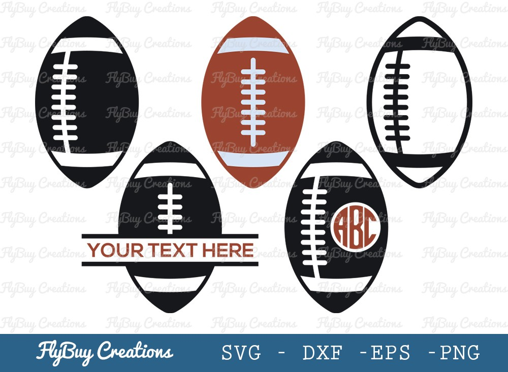 Rugby Ball SVG Cut File | Rugby Ball Svg
