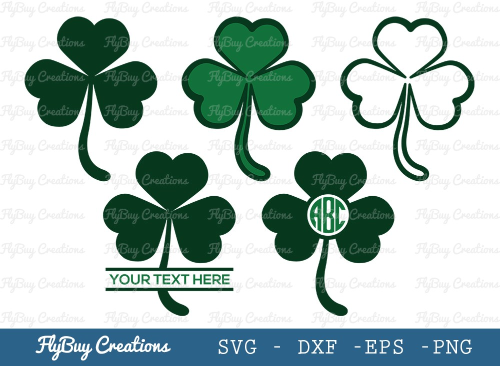 Shamrock Leaf SVG Cut File | Saint Patricks Day