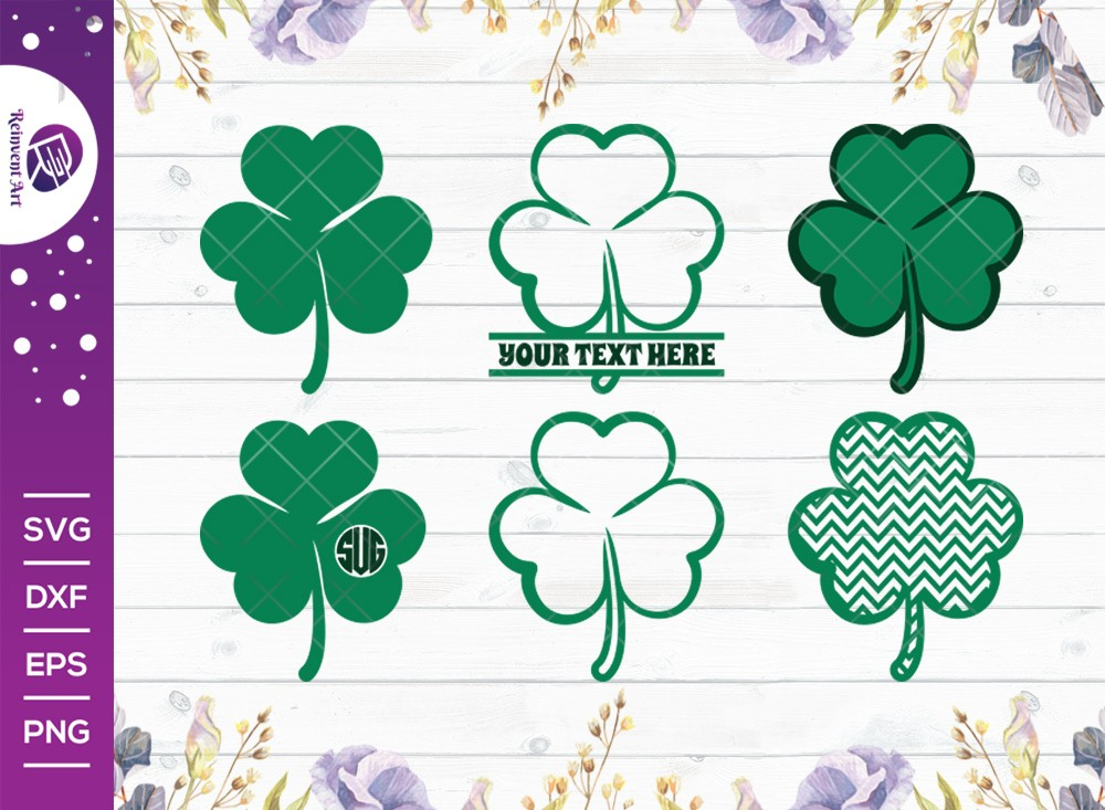 Shamrock SVG Cut File | Saint Patricks Day SVG