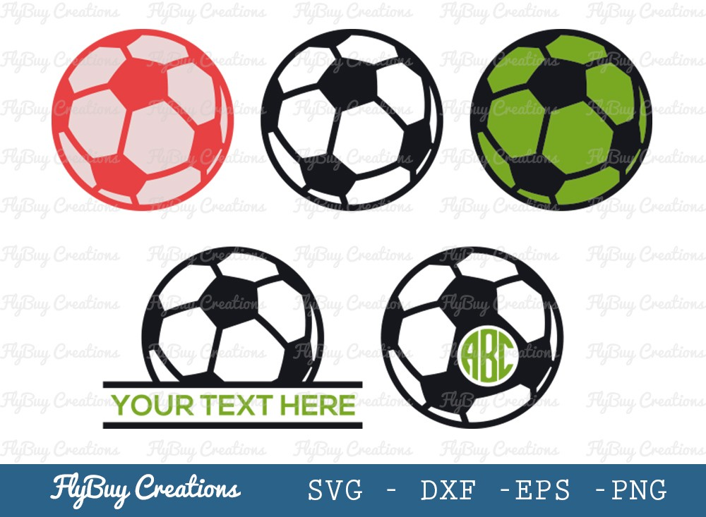 Soccer Ball SVG Cut File | Sports Ball Svg