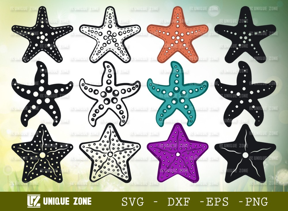 Starfish SVG Cut File | Sea Beach
