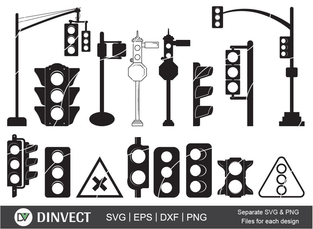 Traffic Light SVG, Traffic Light bundle