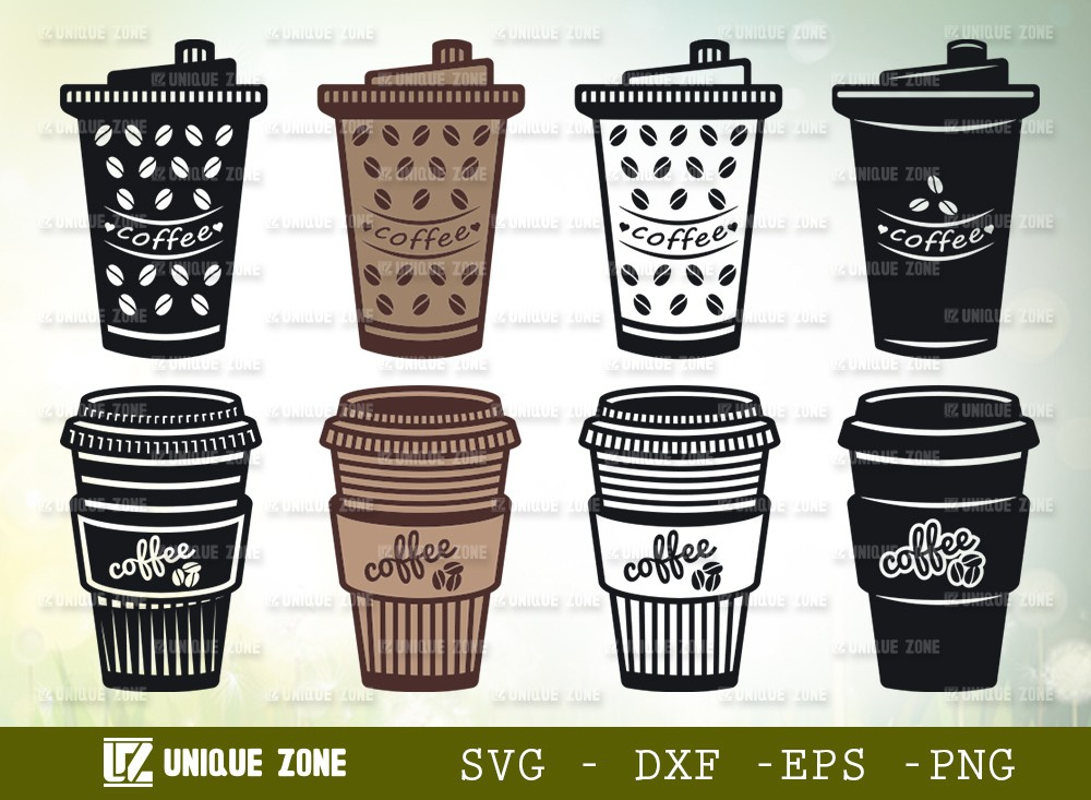 Coffee Cup SVG Cut File | Coffee Mug Svg | Coffee Svg