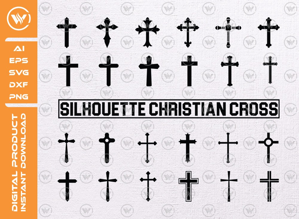 Cross Set SVG | Cross Levels | Cross Set Icon SVG Cut File