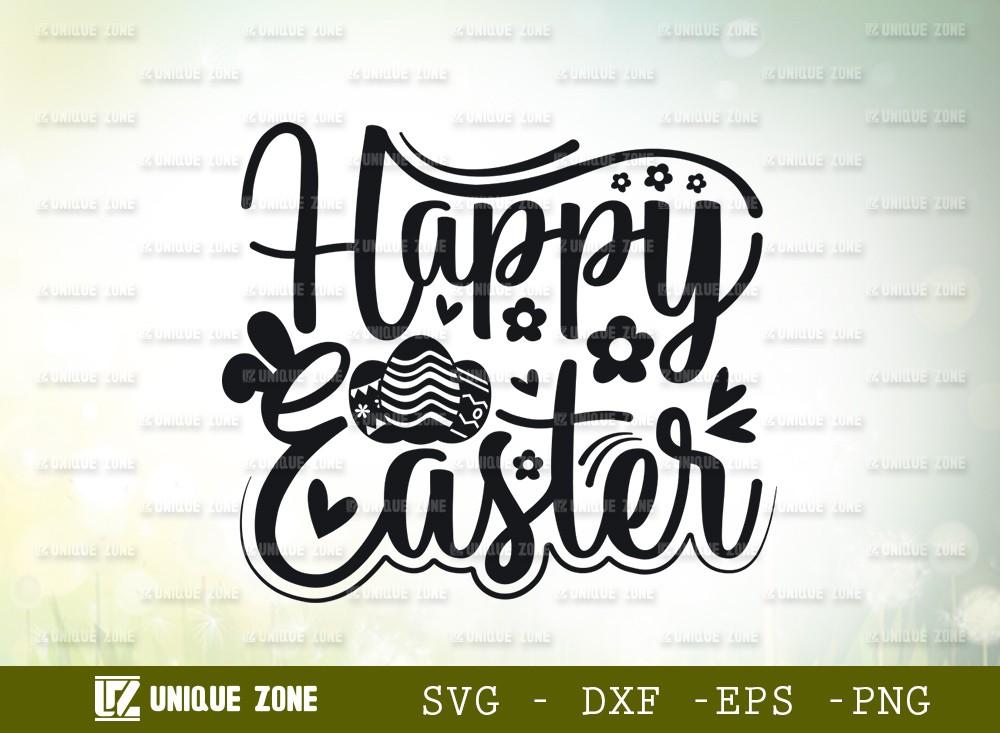Happy Easter SVG Cut File | Easter Svg