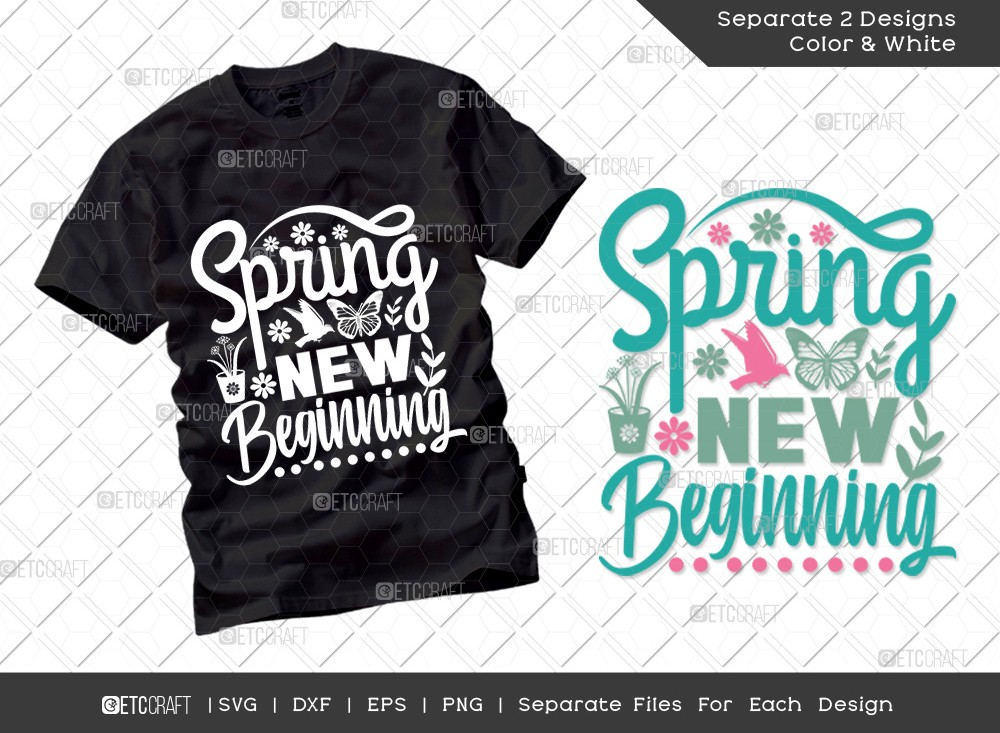 Spring New Beginning SVG | Hello Spring Svg