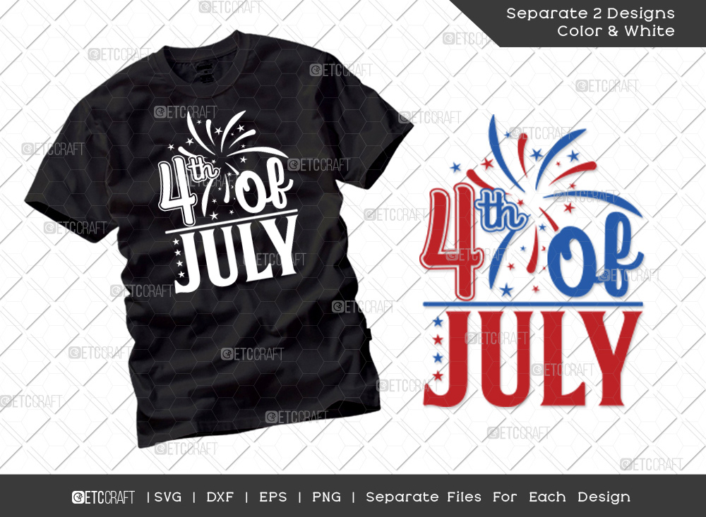 4th Of July SVG Cut File   Independence Day Svg