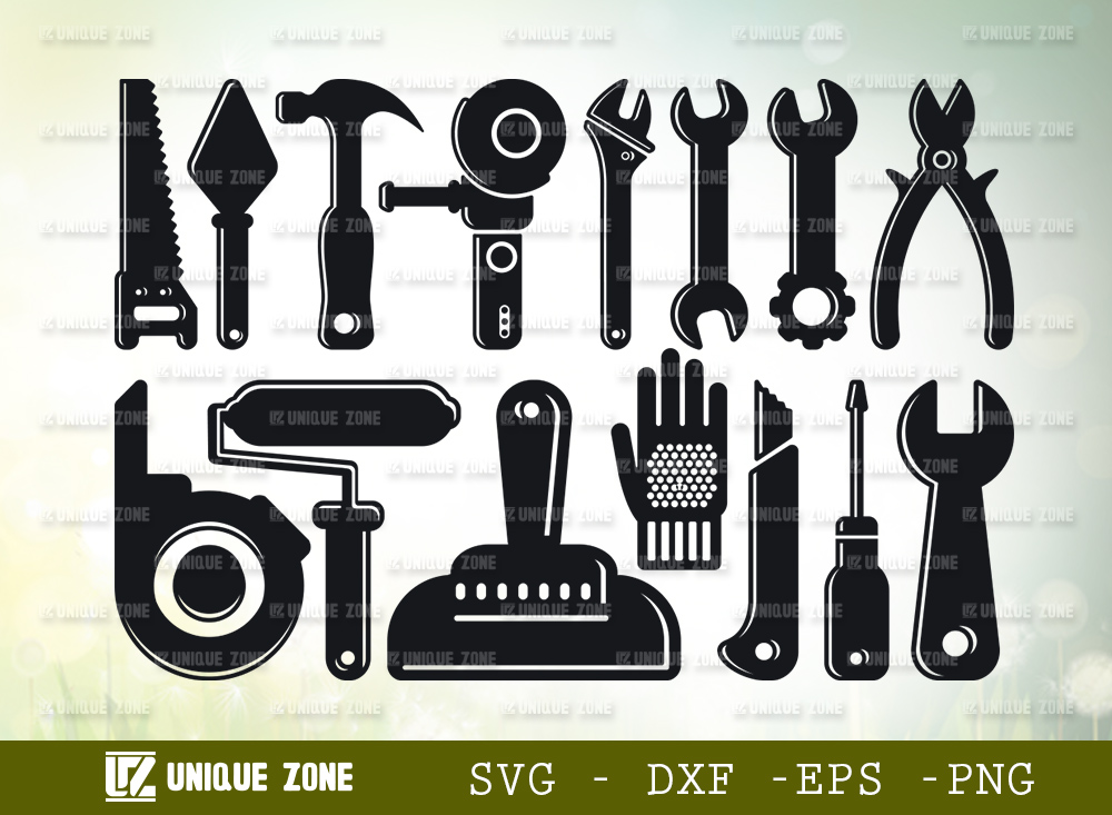 Mechanical Tools SVG| Tools Svg | Builder Svg