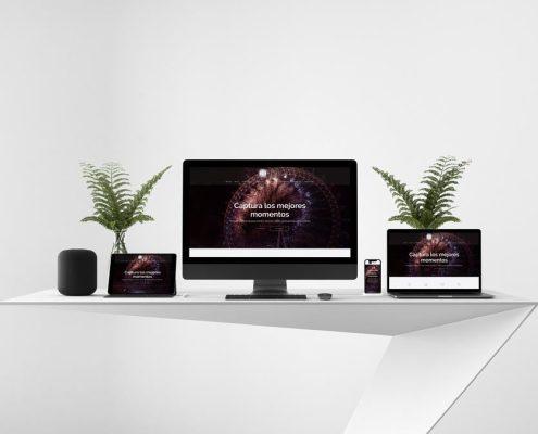 Diseño Web Estudio Fotográfico Avilés