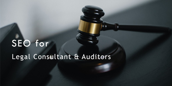 seo for legal consultant & auditors