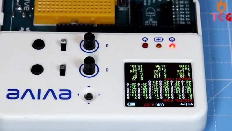 Digital and Analog Pin states of Arduino Mega