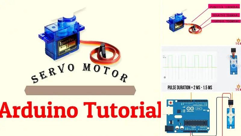 Servo Motor With Arduino Tutorial
