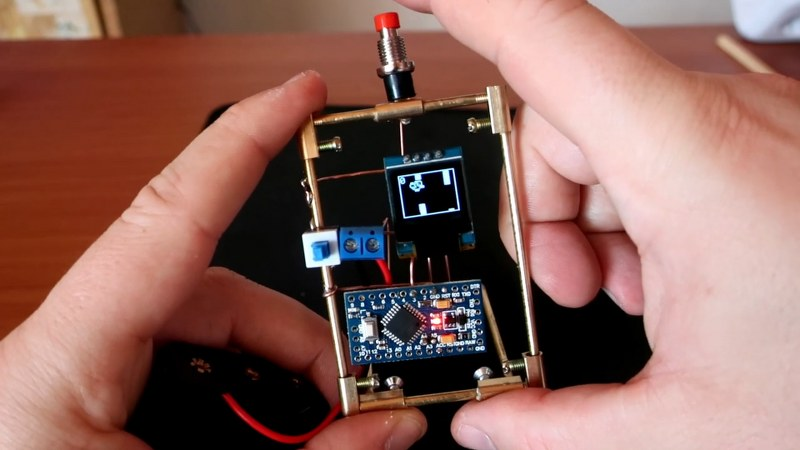 3d circuit build using Ardunio nano
