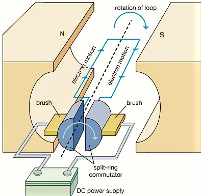 Working of DC Motor