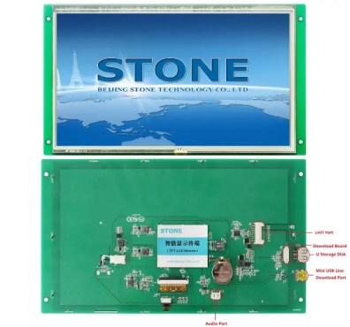 STVC101WT-01 STONE LCD Display