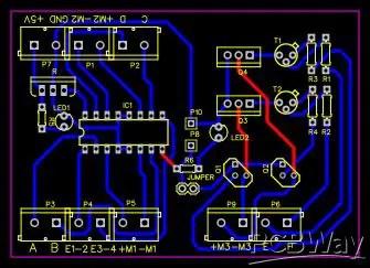Speed controller PCB design