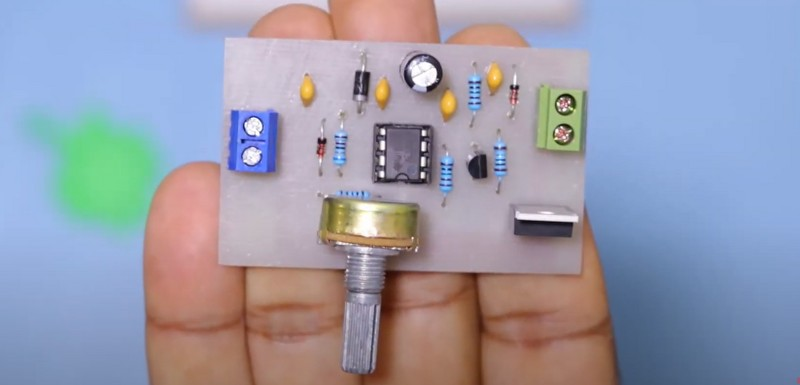 Assembled circuit of speed controller