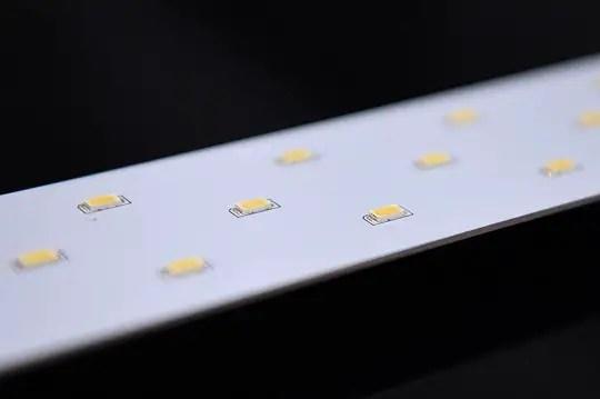 An LED PCB board
