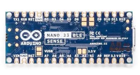 Nano BLE sense Back side