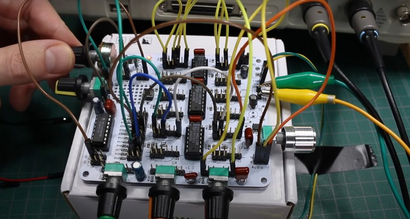 Sound generator using 555 timer