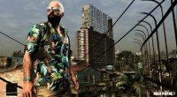 Max prepares to enter the favelas.