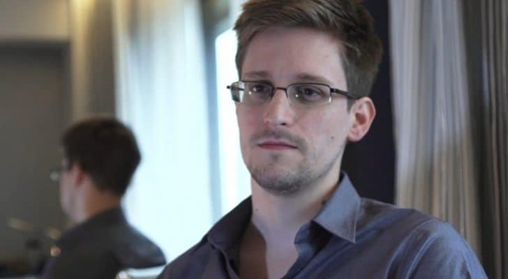 Yes it is that same photo of Edward Snowden again!