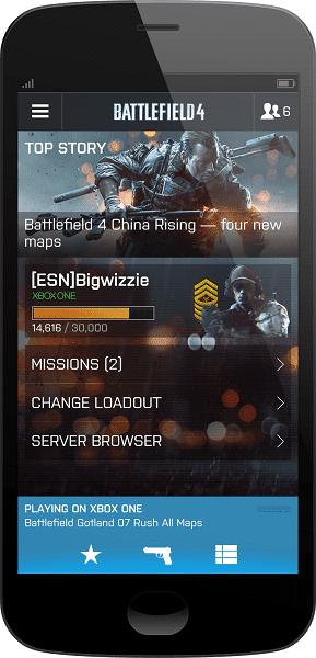 Battlelog-mobile
