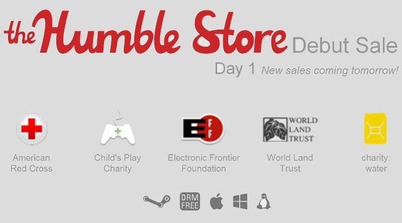 Humble Store Debut