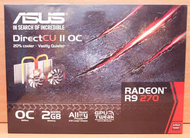ASUS Radeon R9 270 DC2 OC (1)