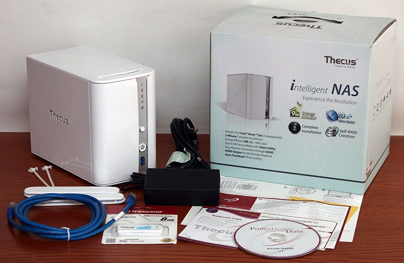 ThecusN2520_Package