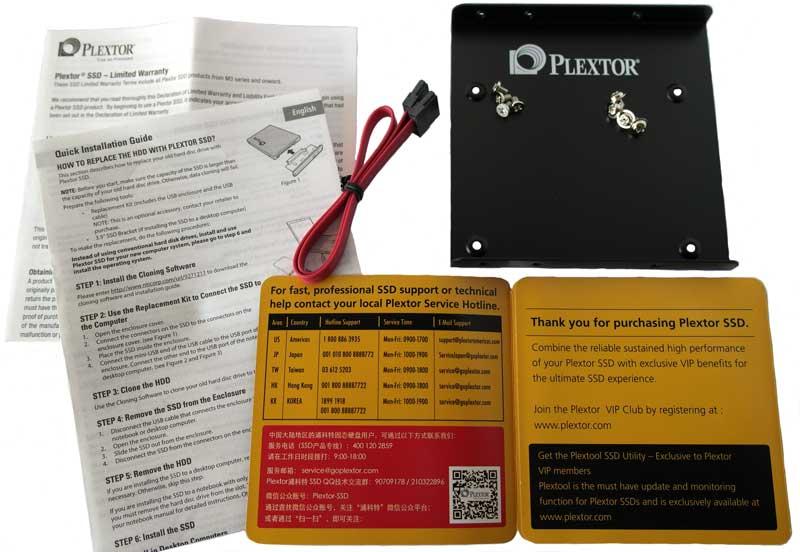 Plextor_M6pro_256gb_accessoires