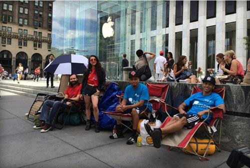 iphone waiting cnbc