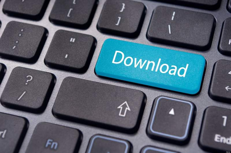 download concepts, to transfer data from internet.