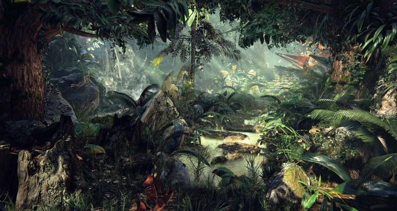 Unreal-Engine-4-Quixel's-Jungle-Environment-1