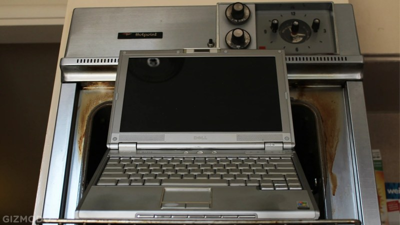 laptop oven