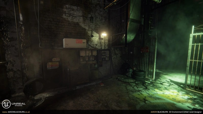 Blade Runner Unreal Engine 4 (5)