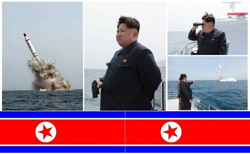 North Korea Missile Test Submraine Kim Jong Un